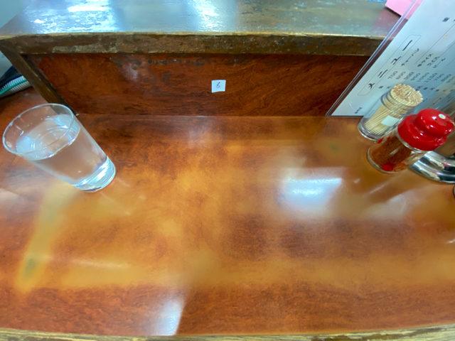 珍々亭(ちんちんてい)の座席