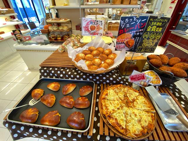 ベーカリーカフェ・クラウン 武蔵境店のパン