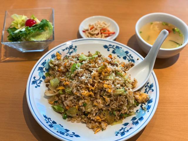 中華料理ドラゴンのランチ