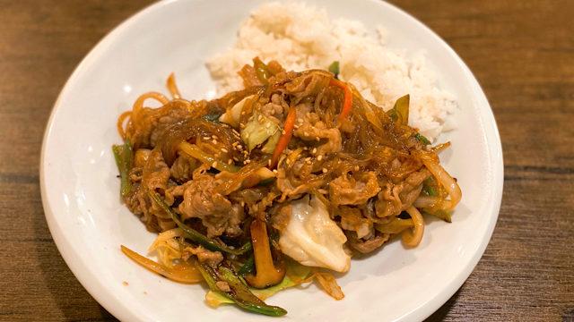 韓味楽(ハンミラク)のプルコギ丼