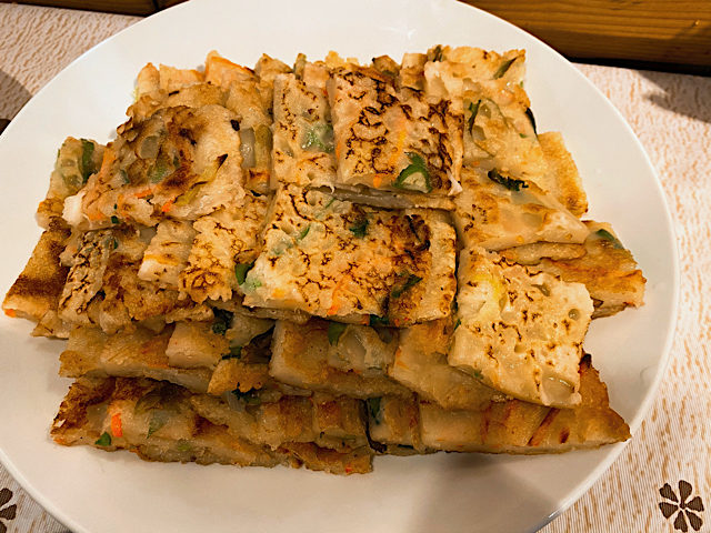 韓味楽(ハンミラク)のチヂミ
