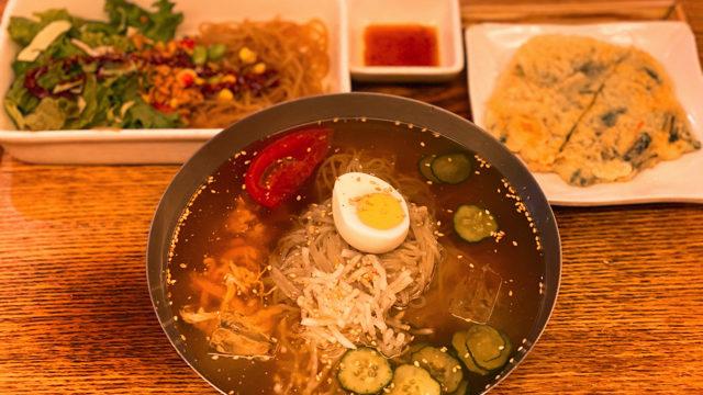 韓美膳(ハンビジェ)アトレ吉祥寺店の冷麺