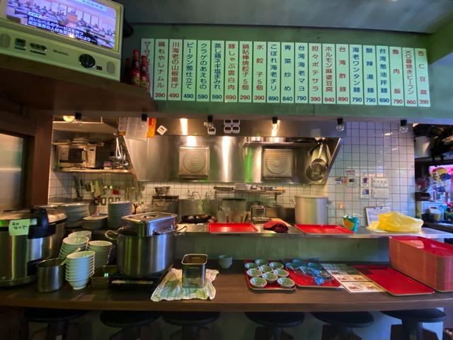 台北餃子 張記(ちょうき)西荻窪店の店内1