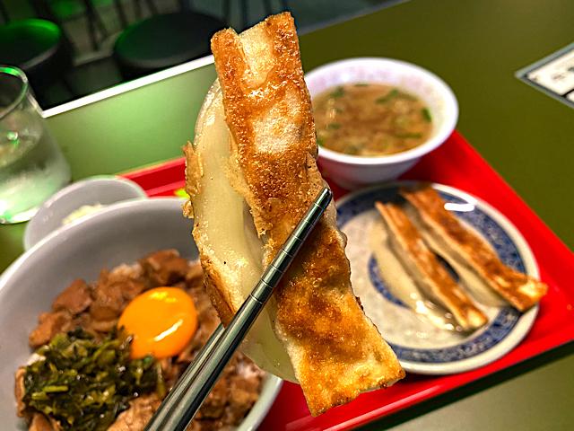 台北餃子 張記(ちょうき)西荻窪店の餃子