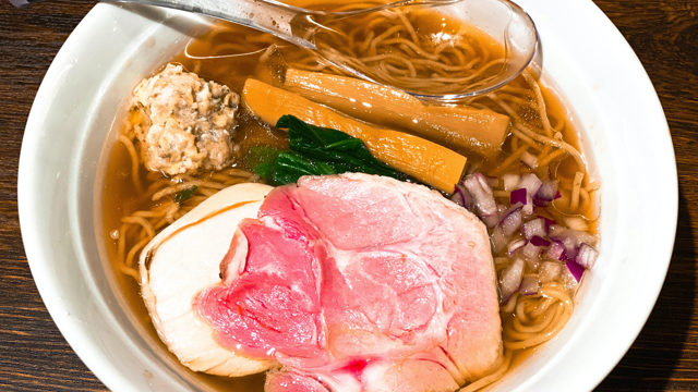貝出汁 中華そば 竹祥(たけしょう)のラーメン