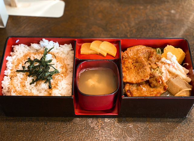武蔵境「オズの魔法使」の弁当ランチ