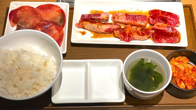 焼肉ライク 吉祥寺南口店のランチ