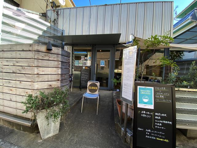西荻窪「ニューベリーカフェ(NEWBURY CAFE)」の外観