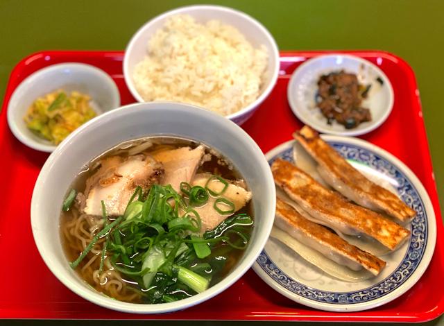 台北餃子 張記(ちょうき)西荻窪店の麺ランチ