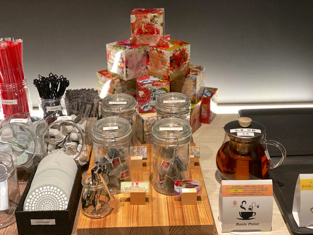 BasisPoint(ベーシスポイント)丸井吉祥寺店の紅茶