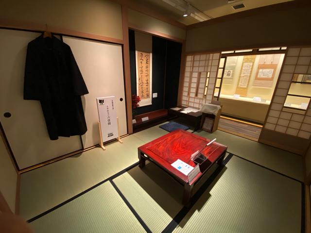 三鷹の「太宰治展示室 三鷹の此の小さい家」2