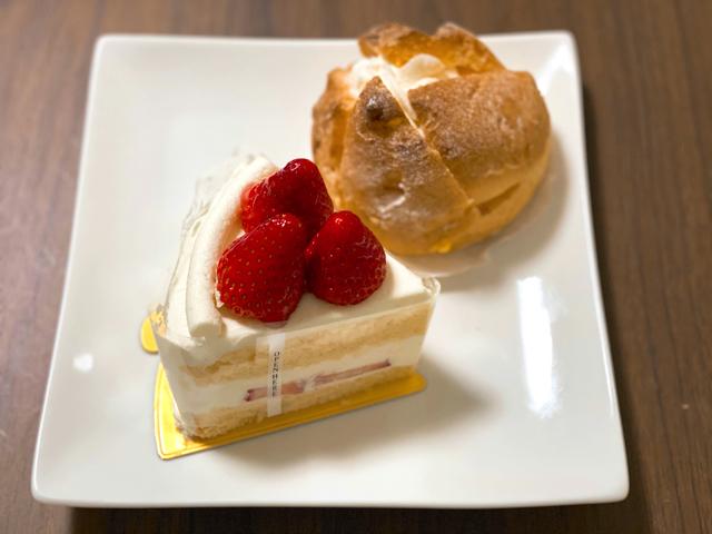 アンリ・シャルパンティエ アトレ吉祥寺店のケーキ