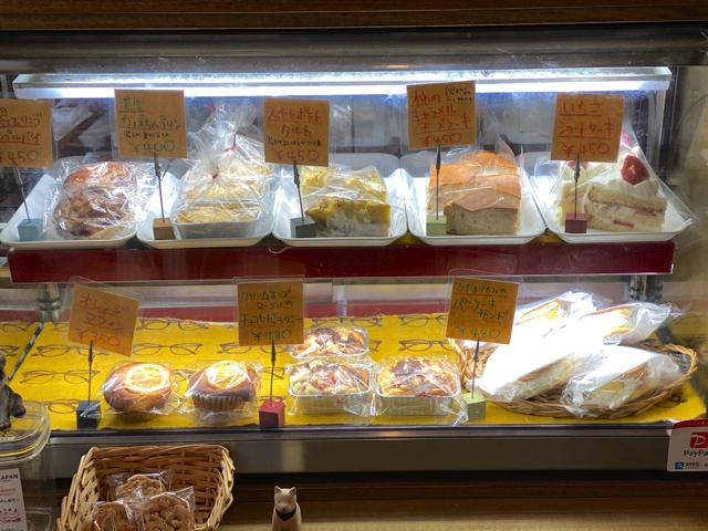 吉祥寺「ひだまりカフェ」のケーキ