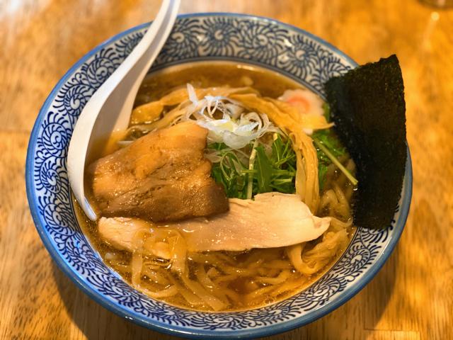 中華そば 海 KAIの煮干しラーメン