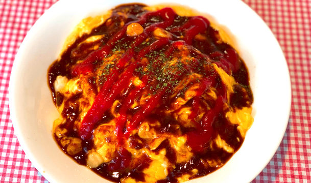 三鷹の洋食レストラン「tachyon(タキオン)」のオムライス