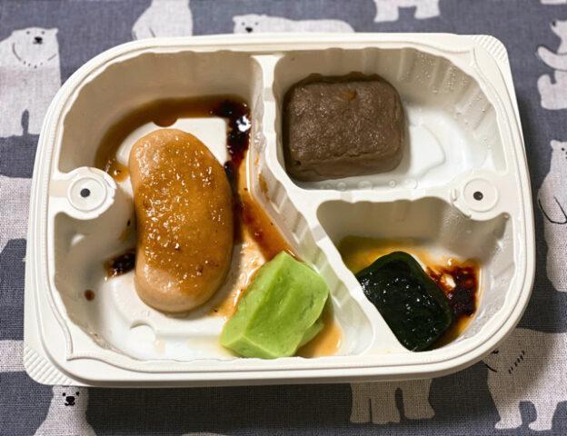 ウェルネスダイニングの「やわらかダイニング」のムースやわらか宅配食のお試しセット2