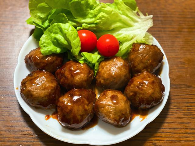 ヨシケイの肉団子