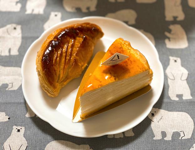 シャトレーゼ プレミアム YATSUDOKI(ヤツドキ)吉祥寺店のアップルパイとケーキ