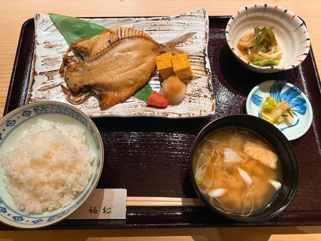鮨 割烹 福松(ふくまつ)三鷹店のランチ