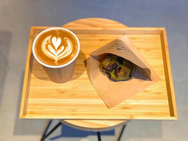 カンノンコーヒー吉祥寺店のカフェラテ