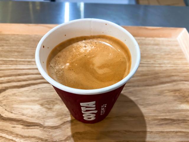 COSTA COFFEE(コスタコーヒー)のフラットホワイト