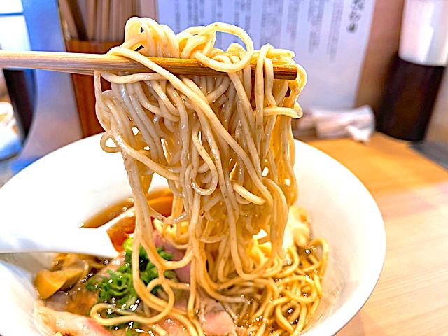 らぁ麺 さわ田の醤油ラーメン3