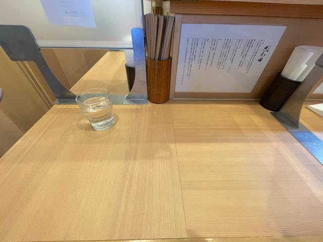 吉祥寺「らぁ麺 さわ田」の店内