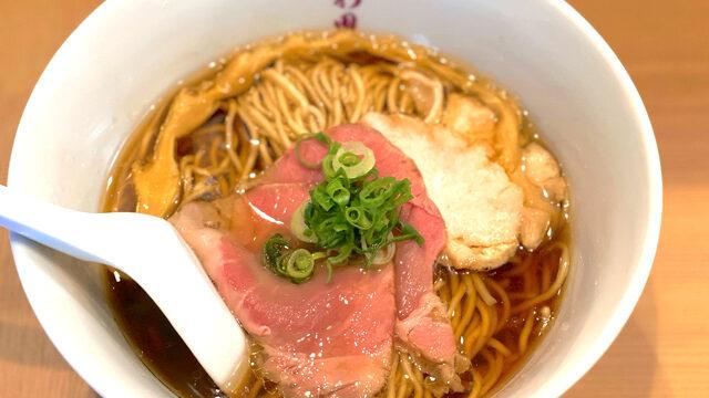 らぁ麺 さわ田の醤油ラーメン1