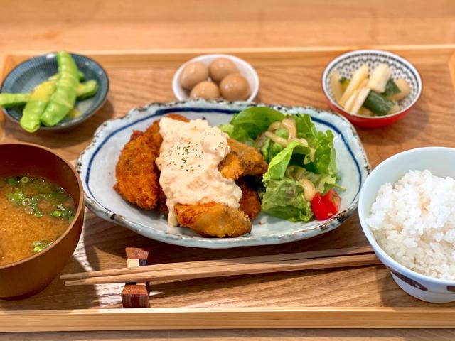 三鷹台「さんまる食堂」の定食ランチ