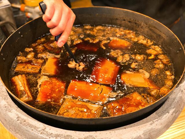 吉祥寺の大衆酒場 長次郎で食べた肉豆腐定食1