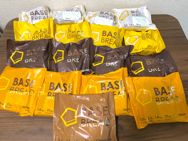 BASE FOOD(ベースフード)パン継続コース スタートセット3