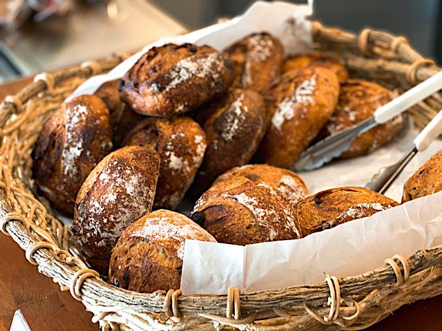 ミュミュール ドゥ コクシネルのパン