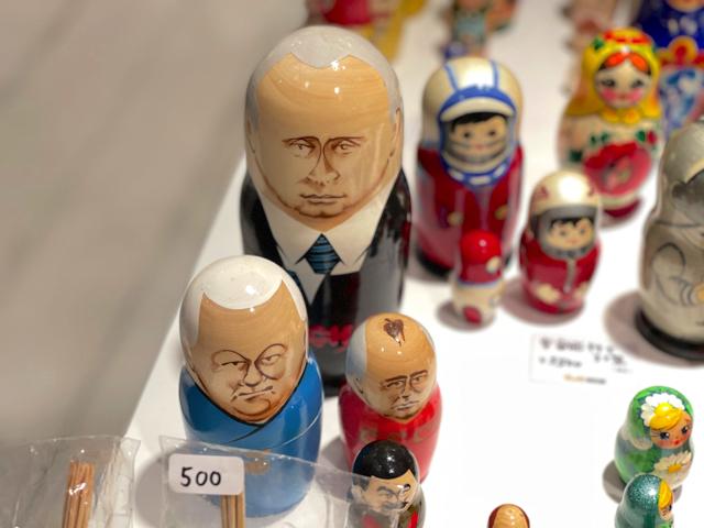 吉祥寺パルコのロシア雑貨店の「PRETTY RUSSIA」3