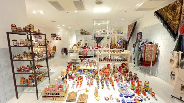吉祥寺パルコのロシア雑貨店の「PRETTY RUSSIA」