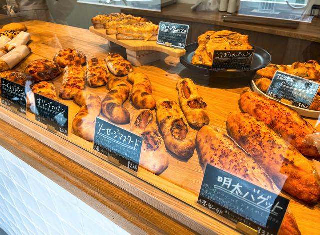 三鷹「Bakery MIDMOST(ベーカリーミッドモースト)」のパン3