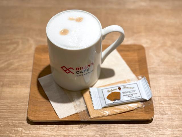 吉祥寺「BILLY's CAFE」のカフェラテ