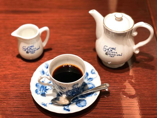 カフェ ド 銀座みゆき館 アトレ吉祥寺店のコーヒー