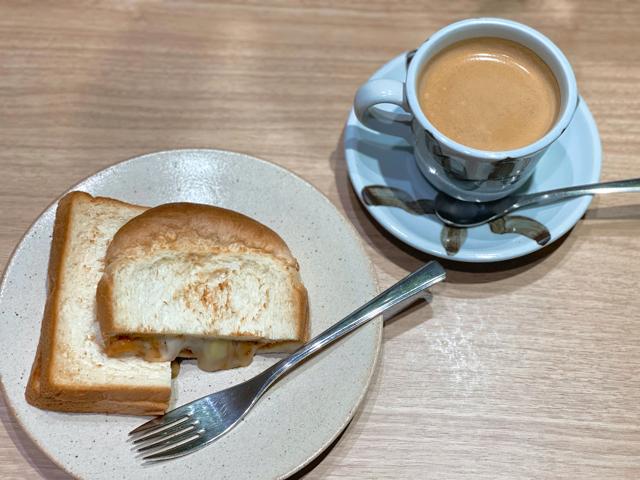 Cafe Renoir(カフェルノアール)吉祥寺北口店のモーニング