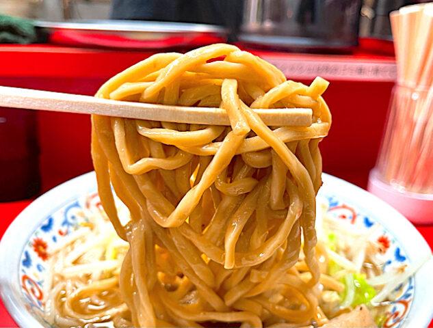 吉祥寺の二郎インスパイア系ラーメン屋「ハナイロモ麺」のラーメン2