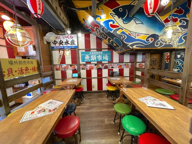 磯丸水産(磯丸水産食堂)吉祥寺北口店の店内