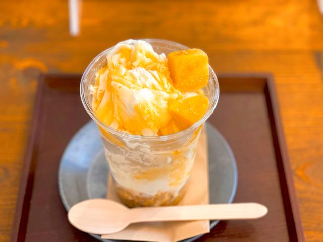 西荻3時で台湾ミルクかき氷