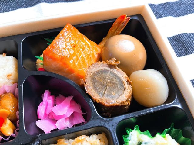 【上石神井】津多屋(つたや)の海苔弁当2