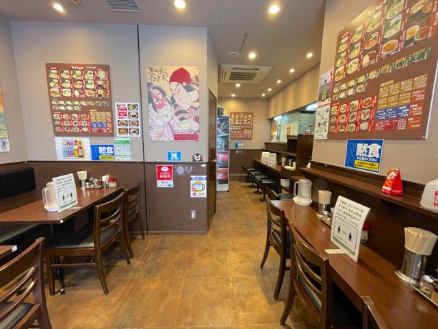 熊本ラーメン ひごもんず neo 三鷹店の店内