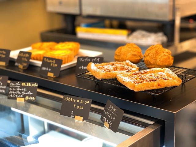 井の頭公園カフェの焼き菓子
