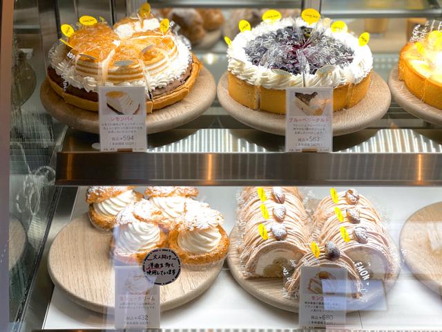 レモンドロップ はなぶさ画廊店のケーキメニュー3