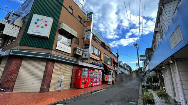 吉祥寺の「七井橋通り」