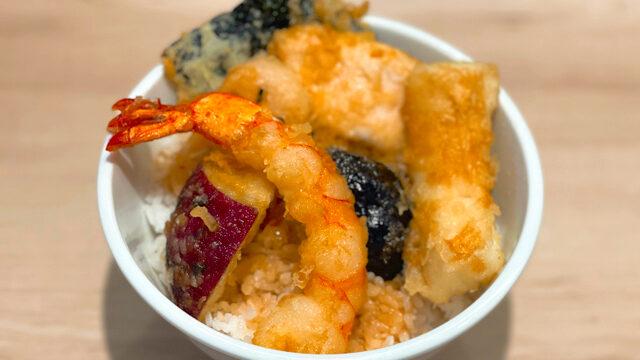 天ぷら 咲く菜 西荻窪駅前店の天丼ランチ1