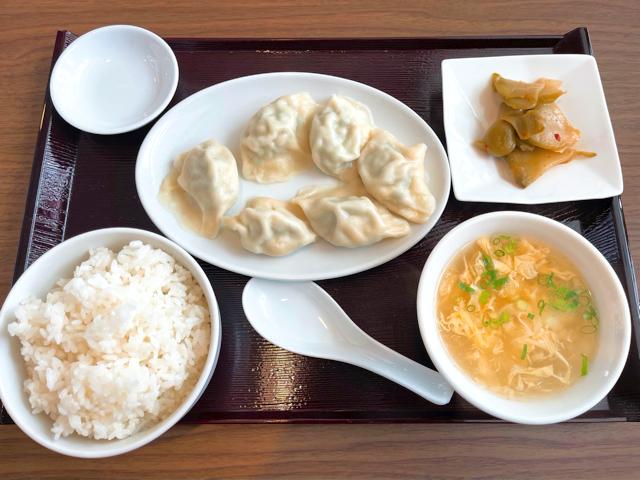 三鷹「千松瀧(せんしょうりゅう)」の水餃子ランチ