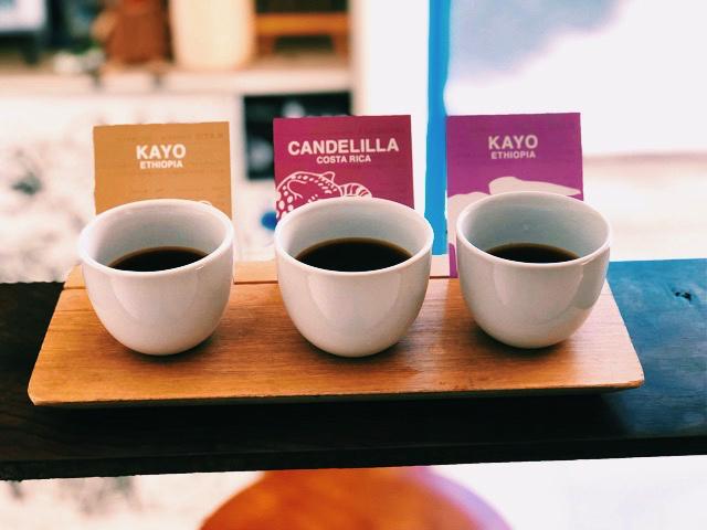 LIGHT UP COFFEE 吉祥寺店のコーヒーの飲み比べセット