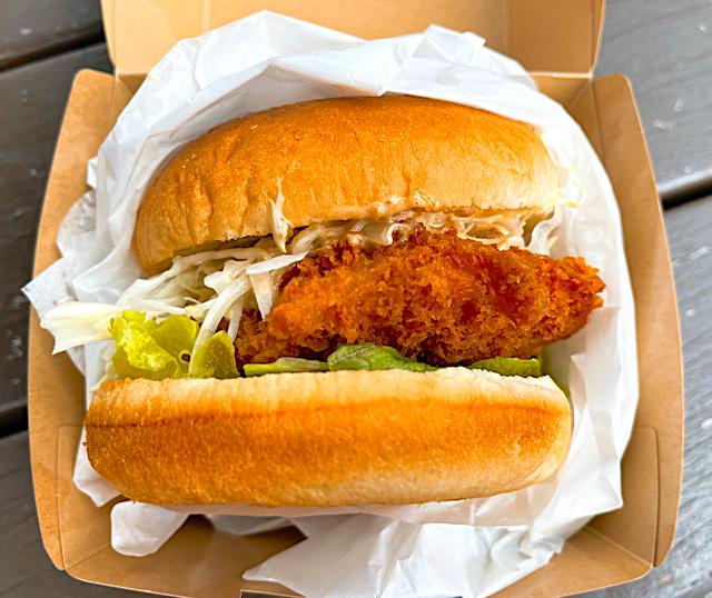 吉祥寺「玄品(げんぴん)」のふぐハンバーガー3